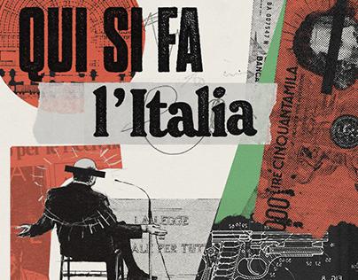 Qui si fa l'Italia | Spotify podcast cover