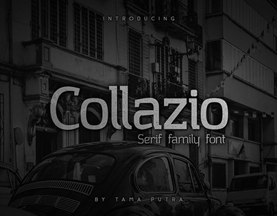 Collazio Family Typeface