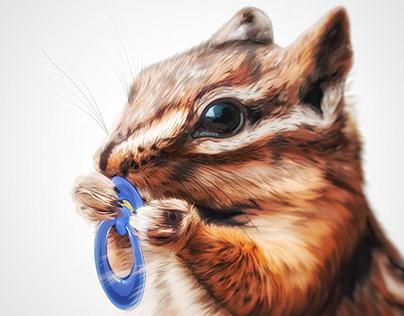 Illustration: Least Chipmunk