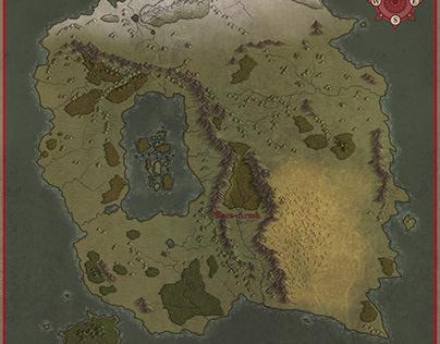 Continent of Golad-Dara