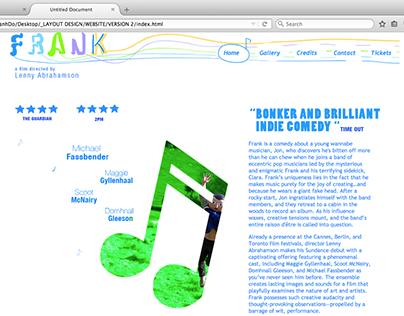 Frank / UI/UX web design