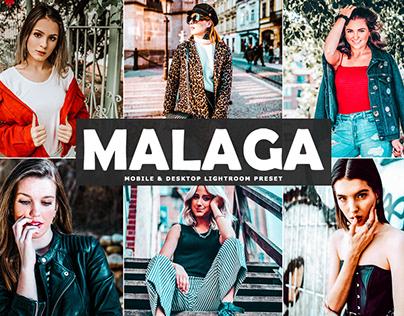 Free Malaga Mobile & Desktop Lightroom Preset