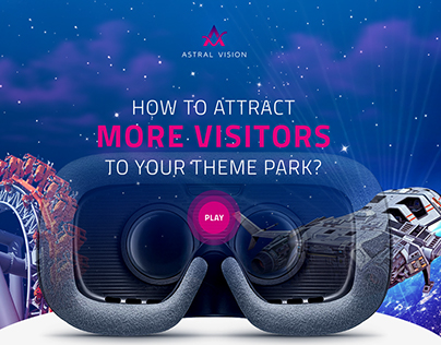 Astral Vision Website - Virtual Reality for Theme Park