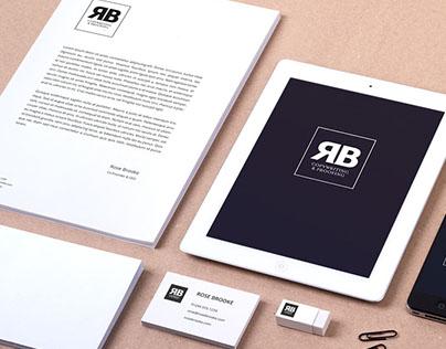 RB Copywriting & Editing logo design