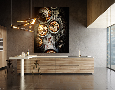 MBrender_Interior Visualization Kitchen