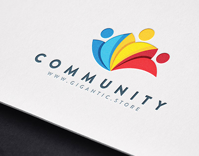 Logo Design Template for Community Brand