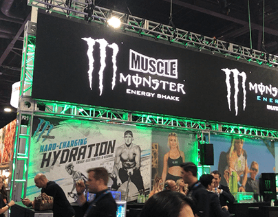 Monster Energy at NACS Show 2019