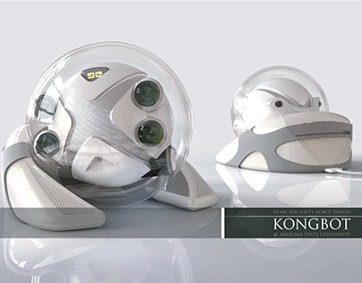 KongBot Home Security Robot