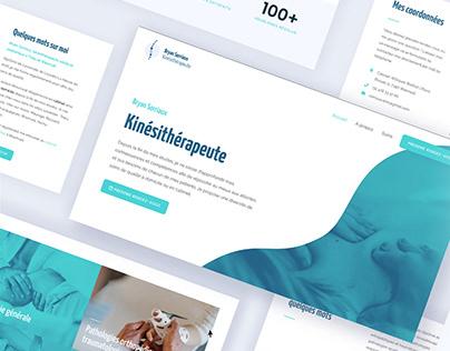Kinésithérapeute | Site web