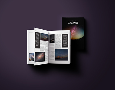 A World of Galaxies Multipage Book