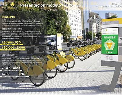 MUI modulo alquier de bicicletas / rent a bike module