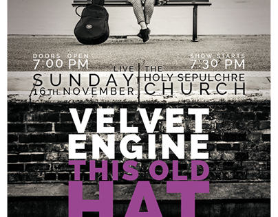 Velvet Engine: This Old Hat EP launch poster