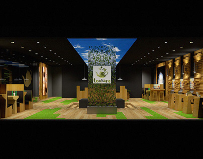 Tea House - Interior Design