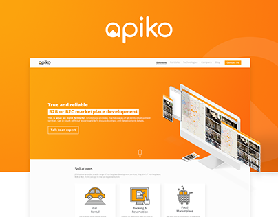 Apiko website