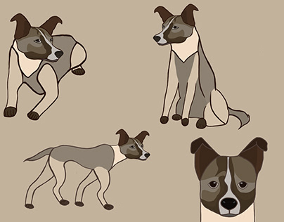 Dog Character Concept