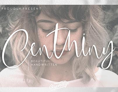 Centhiny - Beautiful Handwritten
