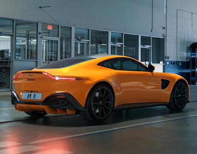 Aston Martin Vantage 2019 CGI