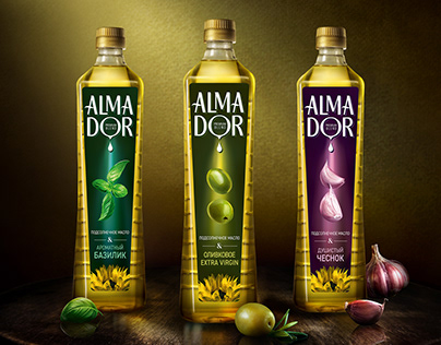 Almador – mixes of oils, made with taste!
