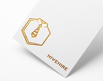 HiveHire Logo Design