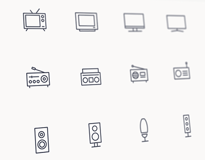 Appliance Icon Design