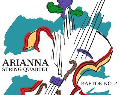 Arianna String Quartet Bartok NO. 2