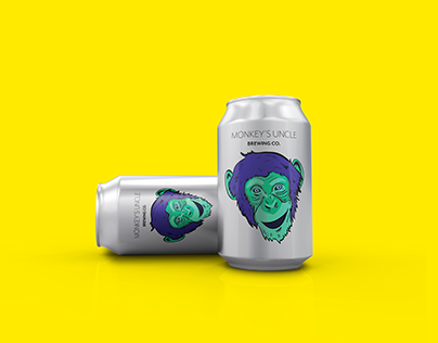 Monkey's Uncle Brewing Co Logo design