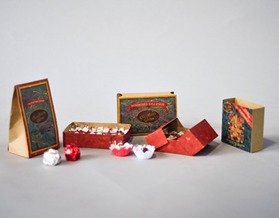 Gourmet Chocolate - Flavor and Packaging Design