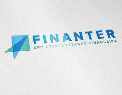 Finanter BPO Financeiro | Logo | Naming | Website