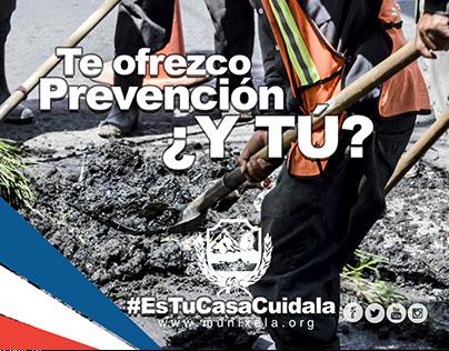 Es tu casa cuídala Municipalidad de Quetzalteango
