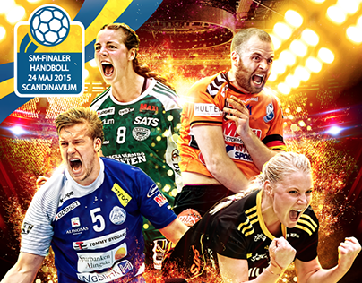 Swedish Handboll Championship - Cover design
