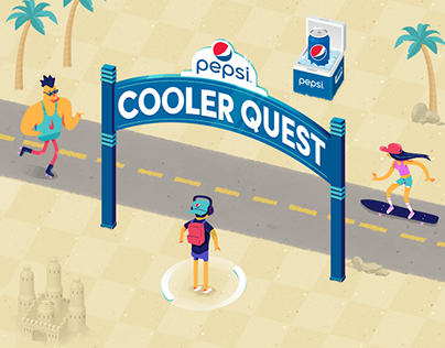 Pepsi Cooler Quest - Playable Ad