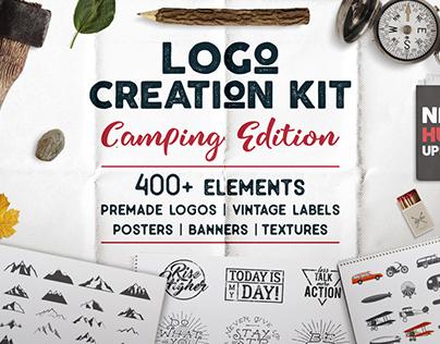 Logo Creation Kit - Camping Edition