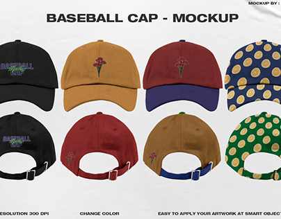 Baseball Cap - Mockup