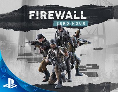 Firewall: Zero Hour Key Art • Sony PlayStation