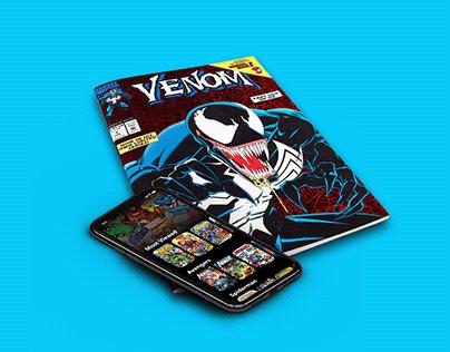 Adobe XD Comic Store Prototype
