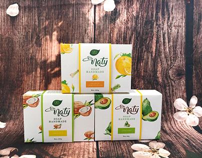 NATY - packaging for handmade soap