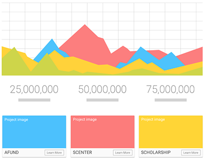 Capital Campaign Website Wireframes
