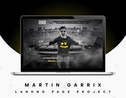 MARTIN GARRIX - Landing Page
