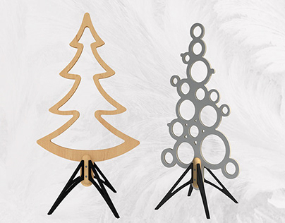 Xmas Trees without leaves