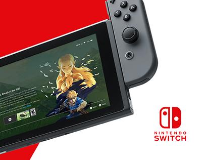 Nintendo Switch | UI Concept