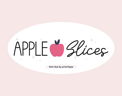 Apple Slices - Font Duo