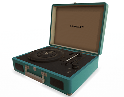 Record Player Props Model