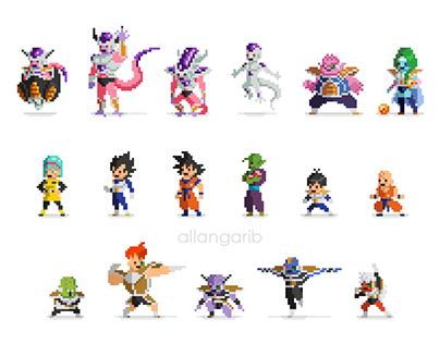 Dragon Ball Pixel Art