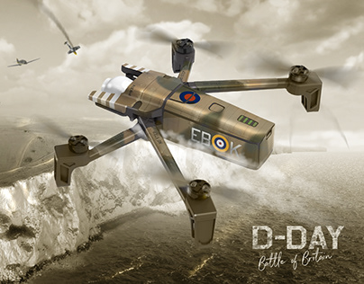 D-Day :: Battle of Britain (Drone-Day)