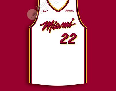 Miami Heat Vice Inspired Concept Jerseys