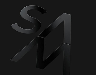 Sam arquitectos, visual identity