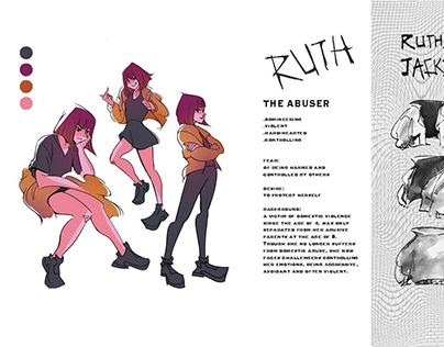 "Character Design ""Ruth"""
