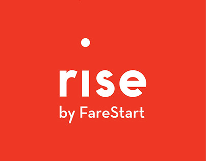 FareStart - marketing collateral, print design