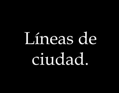 Líneas de Ciudad