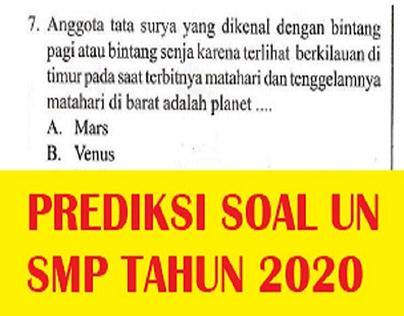 soal un smp 2020